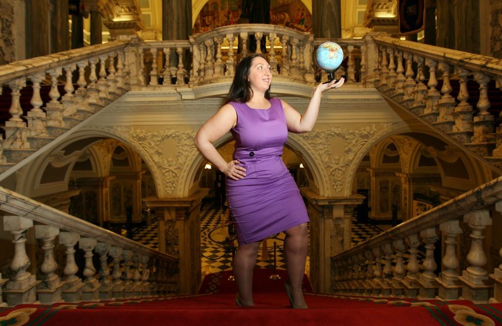 Christine Watson at Belfast City Hall