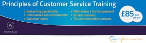 WorldHost Principles of Customer Service Training banner image for Watson & Co Chartered Marketing training course in Belfast August 2018