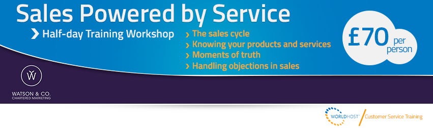 WorldHost Sales Powered by Service Training Course - Watson