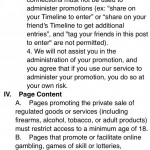Facebook Competition Rules 2