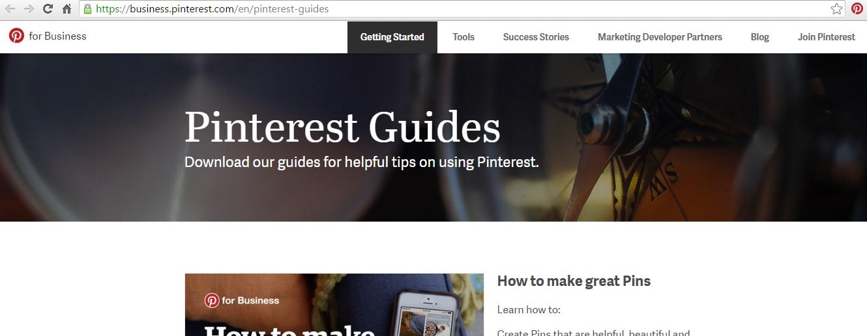 Pinterest Guides Screen Grab