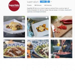 SuperValu NI Instagram