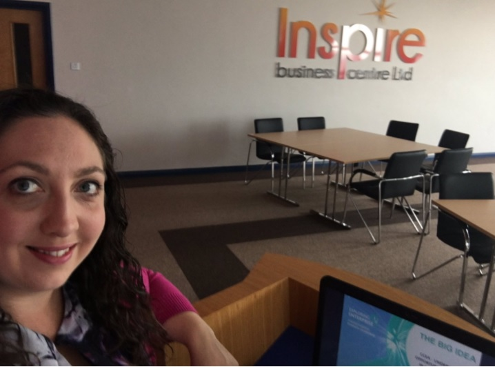 The Big Idea Training Mentoring Session at Inspire Business Centre