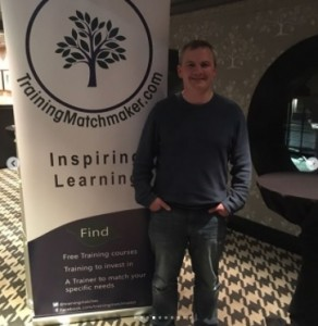 Ciaran Connolly Speaking on Google Maps now accepting Video Content from Android Devices at Digital Sanity Supper Club at the Malmaison Hotel Belfast October 2017