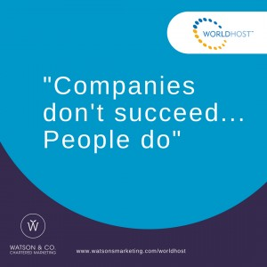 Companies don't succeed…People do