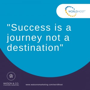 21. Success is a journey not a destination