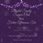 Digital Sanity Supper Club does Festive Afternoon Tea