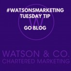 Tuesday Tip Go Blog