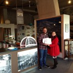 James at The Dock honesty box Café completes world-class customer service training with Watson & Co. Chartered Marketing
