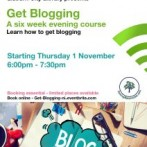 Get Blogging – Free 6 Week Evening Course for Libraries NI