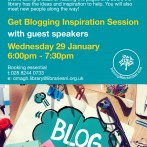Blogging Inspiration Session – 29 January 2020