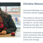 The Future of Marketing: Part 3 featuring The Future of Learning by Chartered Marketer Christine Watson